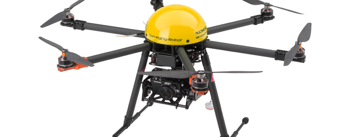 Multirotor G4 surveying-robot