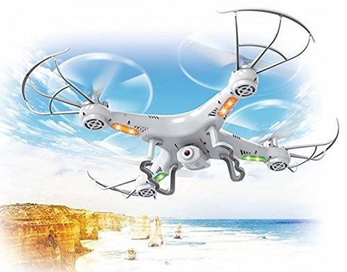 Top Race® TR-Q511 Quad Kamera, ultrastabil 4-Kanal Quad-Copter Drohne mit Kamera & Videoaufnahme, mit 1 Rückkehr- und Gewindemodusoption